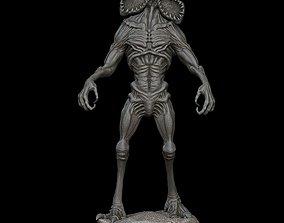 3D printable model Demogorgon statue Stranger Things