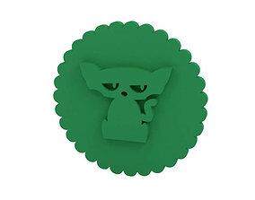 Cookie stamp - Stamp 3D printable model