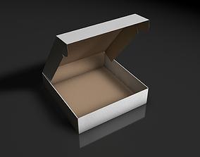 box pizza rigged 3D asset
