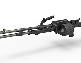 Heavy blaster of Cara Dune from The Mandalorian 3D