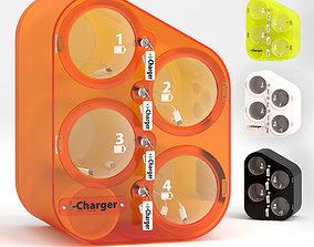 3D model PERLA smartphone charging station i-charger