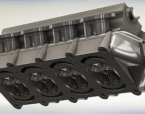 motor Engine Head 3D
