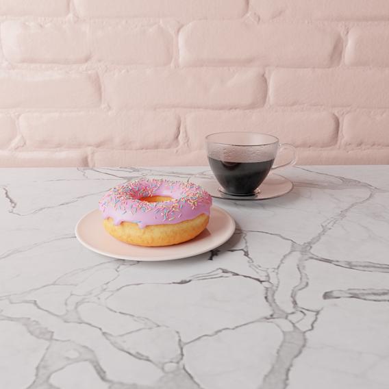 Coffee & Donut