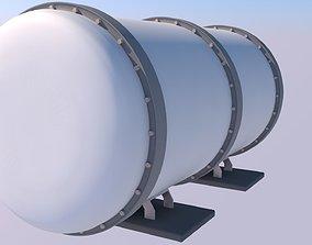 diesel 3D model game-ready Tanker