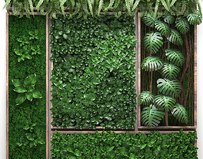 Vertical gardening collection 2 3D