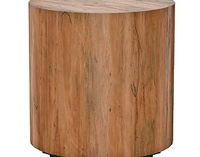3D Dillon Natural Yukas End Table Crate and Barrel