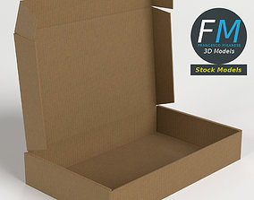 3D Carton box open
