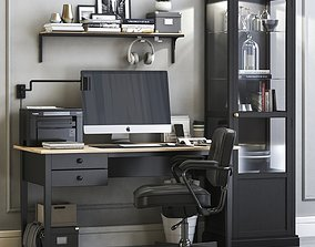 3D Office workplace 8
