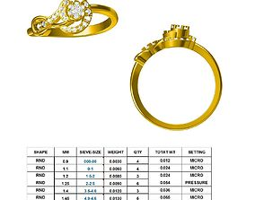 DIAMOND RING DR1 3D printable model