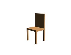 3d model computer table chair keyboard