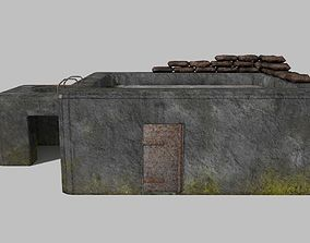 WW II bunker 3D model