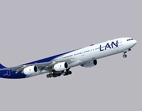 Airbus A340-600 LAN Airlines 3D asset
