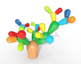 3D asset Cactus decorative toy