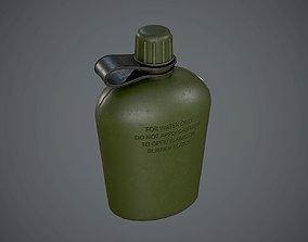 Flask 3D asset