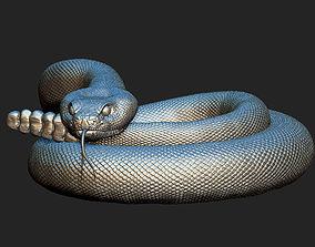 rattlesnake 3D printable model