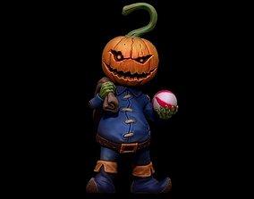 PumpkinMonster3DPrintable