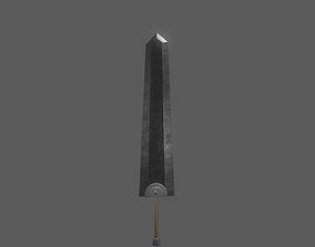 Berserk Sword Dragonslayer 3D model low-poly