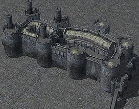 Castle Set 1 in obj format 3D model