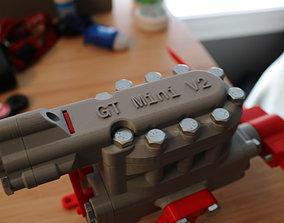 GT V2 Compressed Air Engine working model