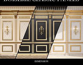 3D Boiserie classic panels and Decorative Crafts Wood 2