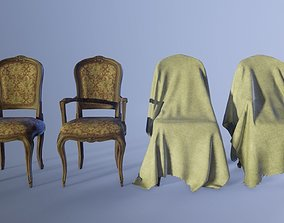 3D model French Classic Chair