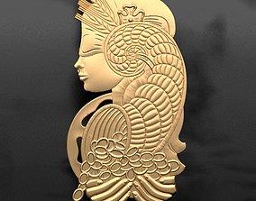 3D printable model Suisse Lady Fortuna