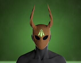 3D asset Stylized Druid Mask
