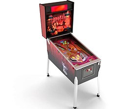 Pinball Machine 3D model