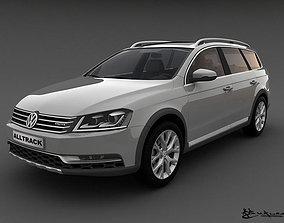 3D Volkswagen Passat Alltrack 2013