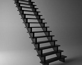 Metal Stairs 3D