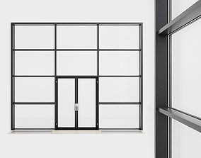 Panoramic glazing Stained glass 32 3D asset