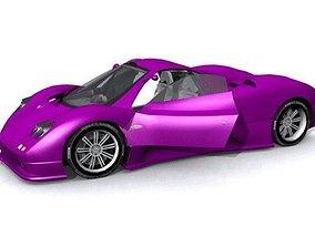3D model Pagani Zonda T