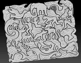 3D printable model MC Escher Puzzle