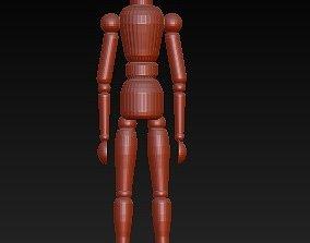 3D print model mannequin