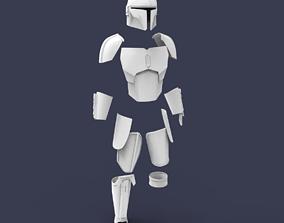The Mandalorian Season 2 2019 armor for 3D