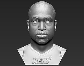 Dwyane Wade bust 3D printing ready stl obj formats