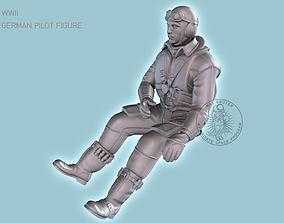 Pilot Me-109 3D printable model