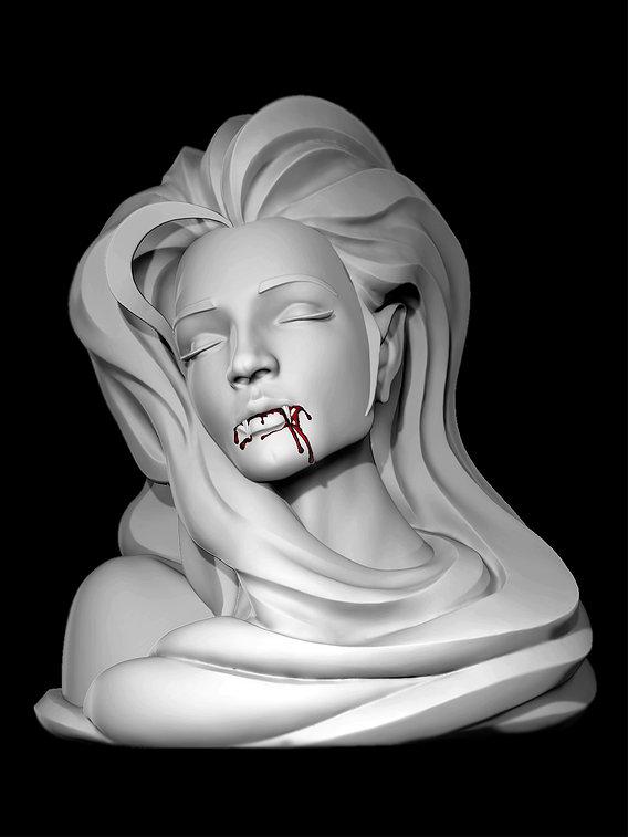 vampire female art