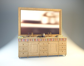 3D model eksklusiv washstand