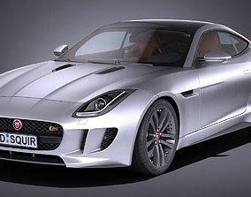 3D model Jaguar F-Type S Coupe 2017
