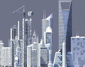 3D Generic Skyscrapers