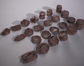 VR / AR ready 3D Tin Can Collection