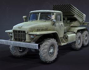 3D asset BM-21 Grad