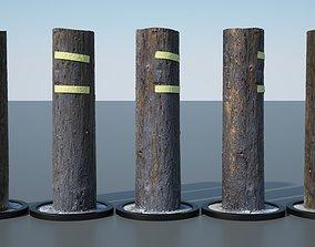 Utility Pole architecture 3D