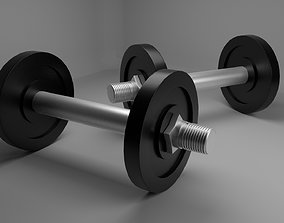 3D model exercise weight