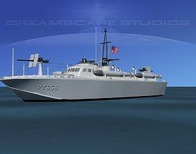 Higgins Class PT Boat PT658 3D model