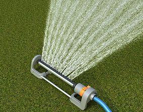 3D model Grass Sprinkler