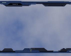 3D asset Old Y2J Frame