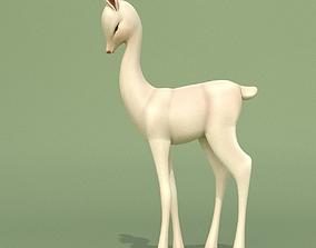 3D model Deer Baby Statuette