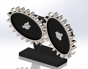 Elliptical gear - 3D Printing